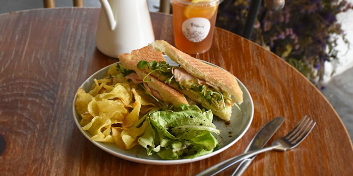 Chicken Pinche Sandwich from Wildseed Cafe at The Alkaff Mansion in Telok Blangah, Singapore