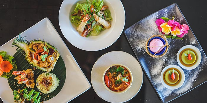 Combine Foods at The TAO Bali