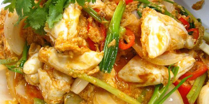 Crab Curry Stir Fried from Raan Jay Fai at 327 Maha Chai Rd Samran Rat, Khet Phra Nakhon Bangkok