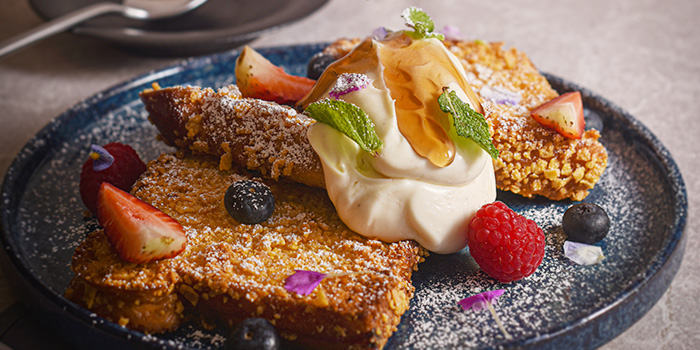 Crispy French Toast from Halcyon & Crane at Paragon Shopping Centre in Orchard, Singapore