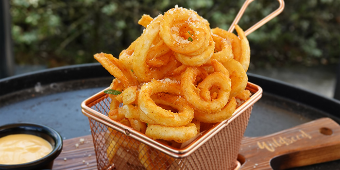 Curly Fries from Wildseed Grill & Bar at Seletar, Singapore