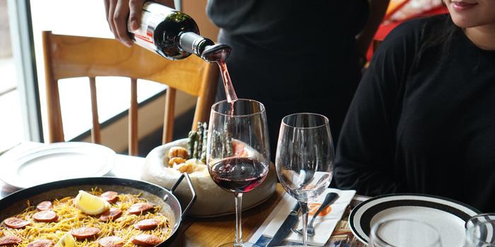 Wine at Plan B - Spanish Resto