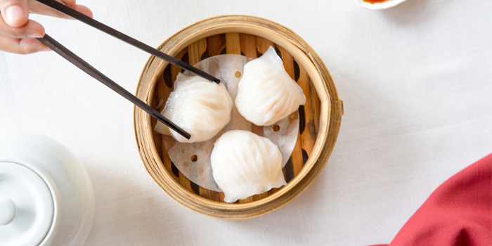 Dimsum from Baba Chino at Sripanwa Resort & Spa, Panwa Cape, Phuket Thailand