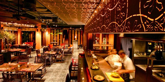 Dining area of Baba Soul Food at Sripanwa Resort & Spa, Panwa Cape, Phuket Thailand