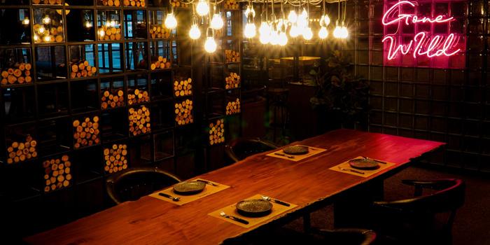Dining Area of Carne at 32/2 Sukhumvit 23 Alley Khlong Toey Nua, Watthana Bangkok