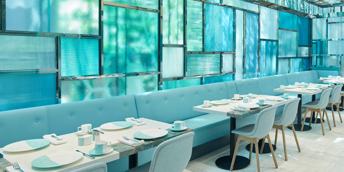 Dining Area, The Tiffany Blue Box Cafe, Tsim Sha Tsui, Hong Kong