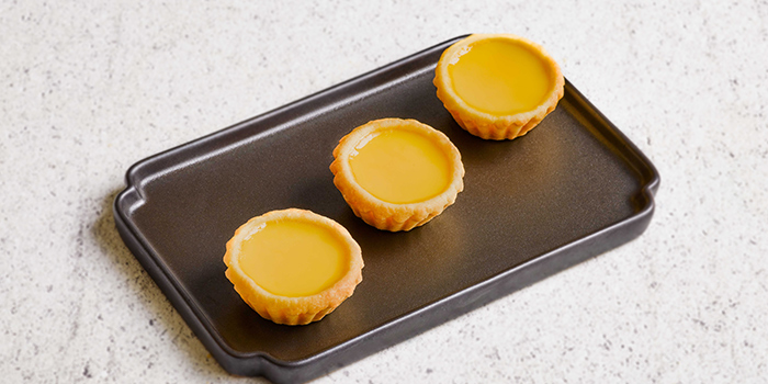 Egg Tart from Tim Ho Wan (Jewel) at Jewel Changi Airport in Changi, Singapore