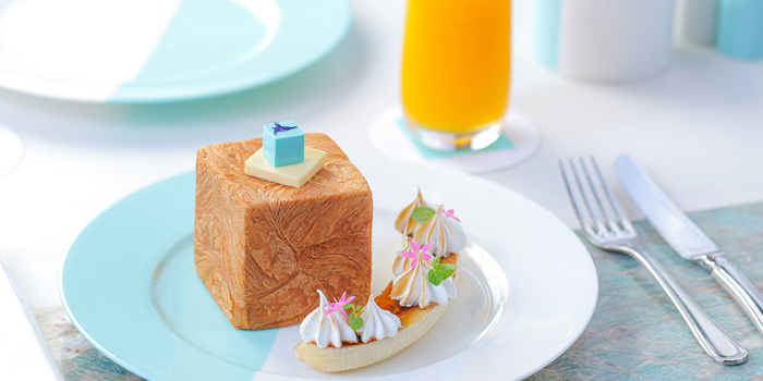 Signature Blue Box Toast, The Tiffany Blue Box Cafe, Tsim Sha Tsui, Hong Kong