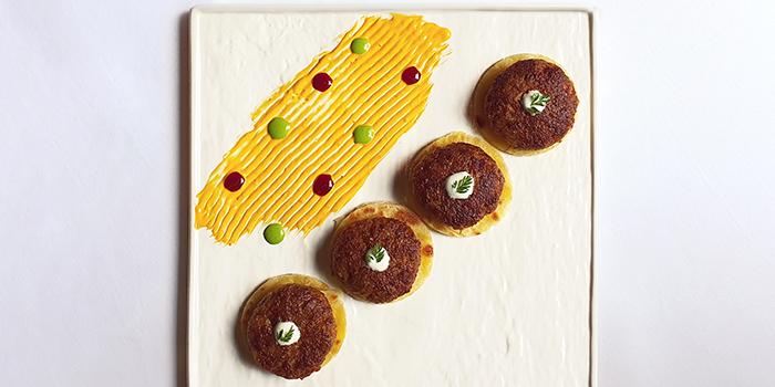 Impossible™ Gilawat Kebab & Ulta Tava Paratha from Rang Mahal at Pan Pacific Hotel in Promenade, Singapore