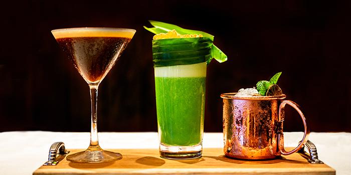 Cocktails from Pizzaria at Hyatt Regency Bali