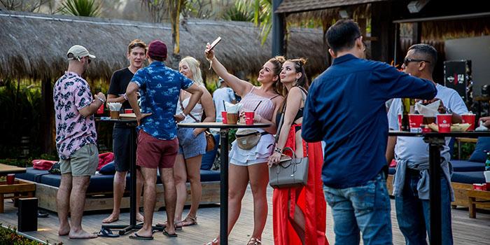 Vibe from Roosterfish Beach Club at Uluwatu, Bali