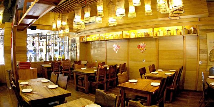 Interior 1 at Seafood House, Bali