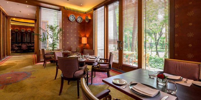 Interior 2 at Sriwijaya Restaurant, The Dharmawangsa Hotel