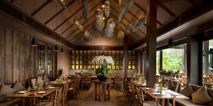 Interior of Dee Plee in Layan, Phuket, Thailand