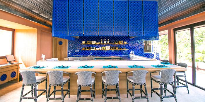 Japanese Section of Baba Pool Club at Sripanwa Resort & Spa, Panwa Cape, Phuket Thailand