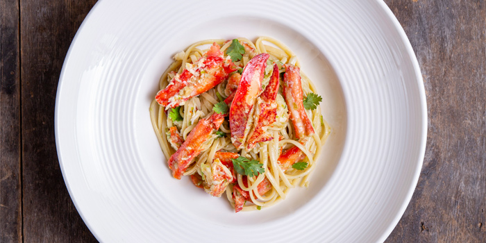 King-Crab-&-Lobster-Spaghetti from The Dock at The Maze Thonglor, Bangkok