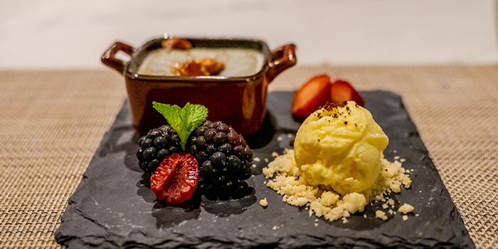 Matcha Lava Cake With Japanese Vanilla Ice Cream from GAKE in Clarke Quay, Singapore