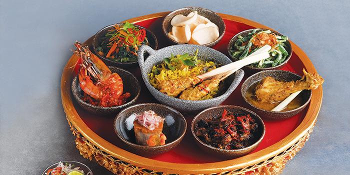 Food from Manisan Restaurant, Ubud, Bali