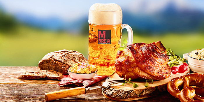 Oktoberfest Promotion (25 Oct to 10 Nov) from Food Capital at Grand Copthorne Waterfront Hotel in Robertson Quay, Singapore
