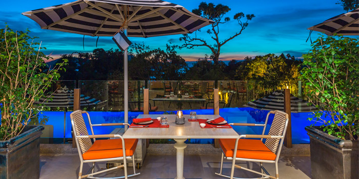 Outdoor of Baba Chino at Sripanwa Resort & Spa, Panwa Cape, Phuket Thailand