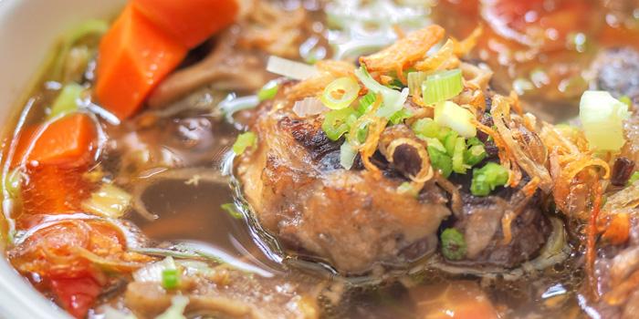 Oxtail Soup at Jakarta Restaurant, The Dharmawangsa