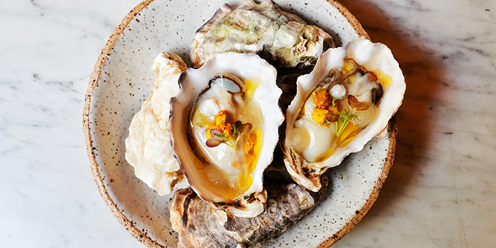 Oysters from Morsels in Dempsey, Singapore