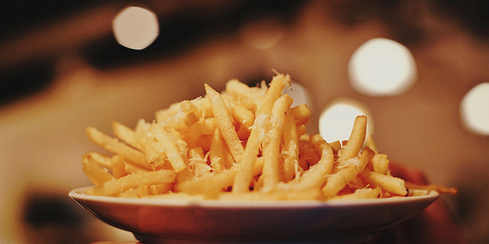 Parmesan & Truffle Fries from Riders Cafe in Bukit Timah, Singapore