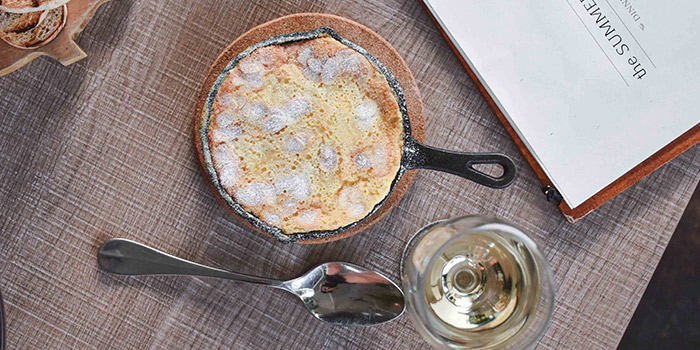 Pear Clafoutis from Summerhouse in Seletar, Singapore