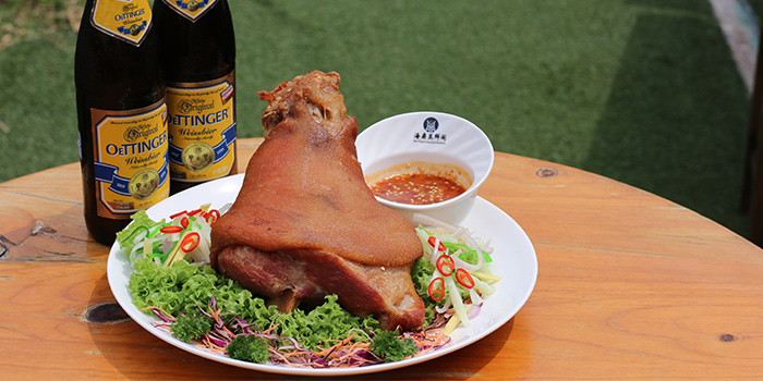 Pork Knuckle (1 Oct to 1 Nov) from Sea Tripod @ Garden in Jurong, Singapore