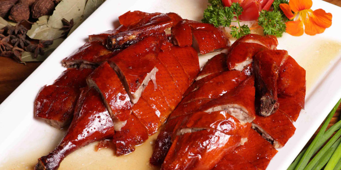 Roasted Duck at Seafood House, Bali