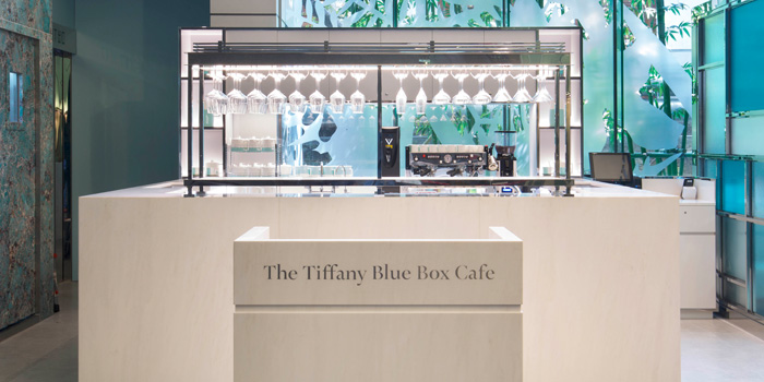 Reception, The Tiffany Blue Box Cafe, Tsim Sha Tsui, Hong Kong