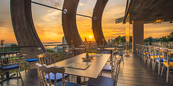 Al Fresco Dining at Arbora (formerly Spuds & Aprons) at Faber Peak Singapore in Harbourfront, Singapore