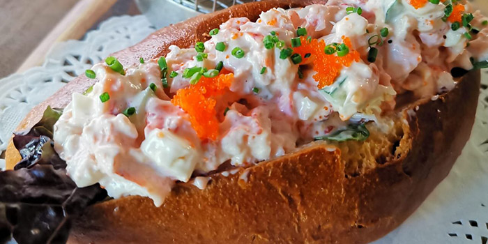 Lobster Roll from Bodacious at Biopolis in Bouna Vista, Singapore