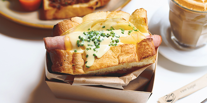 Ham & Cheese from Bread Yard at Galaxis in Buona Vista, Singapore