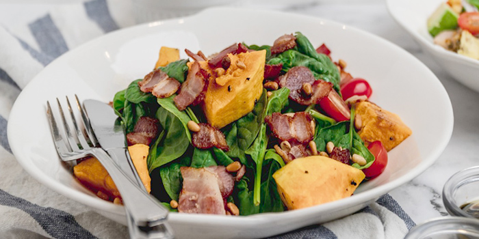 Bacon Pumpkin Salad from Cafe Manuka at Paragon in Orchard, Singapore