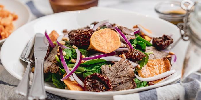 Roast Lamb Salad from Cafe Manuka at Paragon in Orchard, Singapore