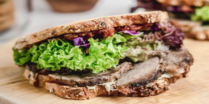 Roast Lamb Sandwich from Cafe Manuka at Paragon in Orchard, Singapore