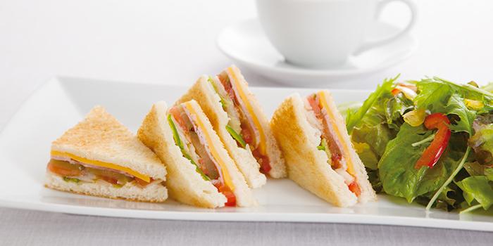 Ham & Egg Sandwich from Café Morozoff (Jewel) at Jewel Changi Airport in Changi, Singapore