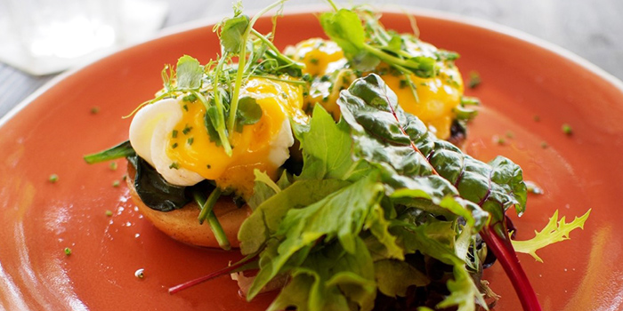 Egg Benedict from Communal Coffee in Dhoby Ghaut, Singapore
