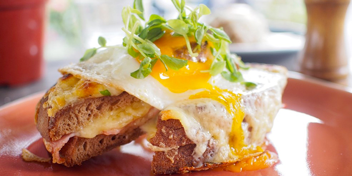 Sunny Egg Croque Madame from Communal Coffee in Dhoby Ghaut, Singapore