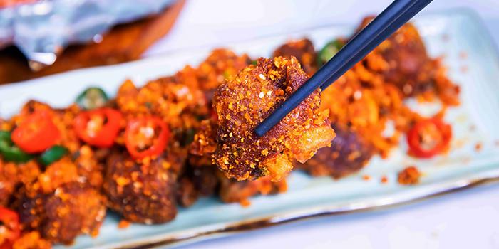 "Marmite Chicken from Dating Fish 鱼你有约""音乐主题餐厅 in Chinatown, Singapore"