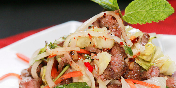 Australian Beef Salad from IndoChine (Chijmes) in CHIJMES, Singapore