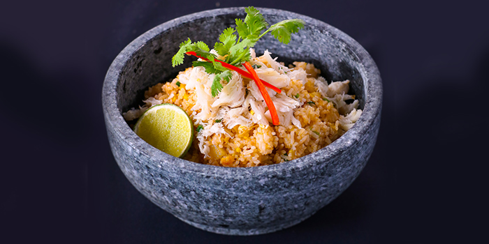 Crab and Pineapple Fried Rice from IndoChine (Chijmes) in CHIJMES, Singapore