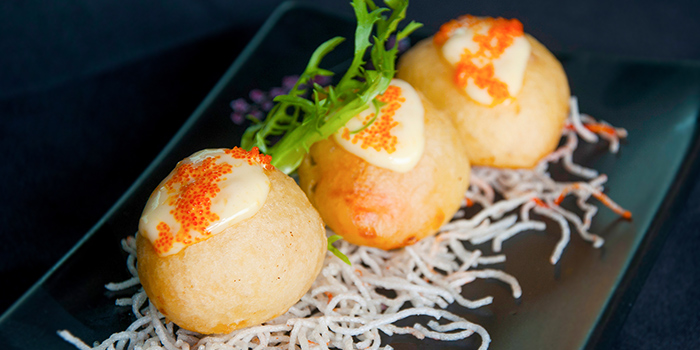 Signature Lychee Prawns from IndoChine (Chijmes) in CHIJMES, Singapore