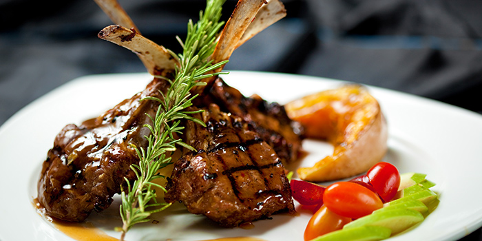 Lemongrass Rack of Lamb from IndoChine (Chijmes) in CHIJMES, Singapore