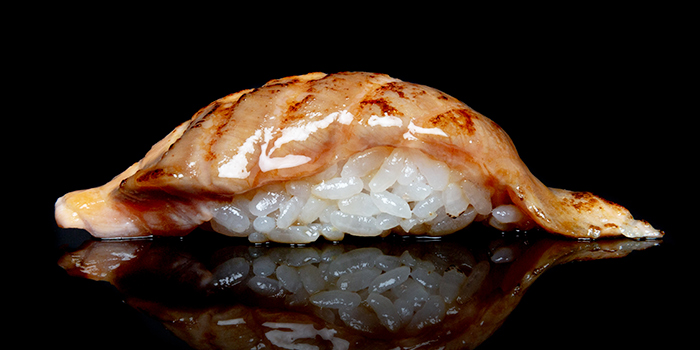 Aburi Salmon Zuke from Issho Izakaya (Kallang Wave Mall) in Kallang, Singapore