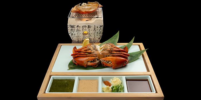 Crab Duo Special  from Issho Izakaya (Great World City) in River Valley, Singapore