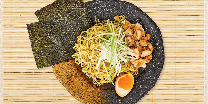 Dry Ramen with Chicken Charshu from Isuramuya Japanese Restaurant and Marketplace at JCube in Jurong, Singapore