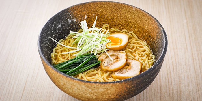 Ramen with Chicken Charshu from Isuramuya Japanese Restaurant and Marketplace at JCube in Jurong, Singapore