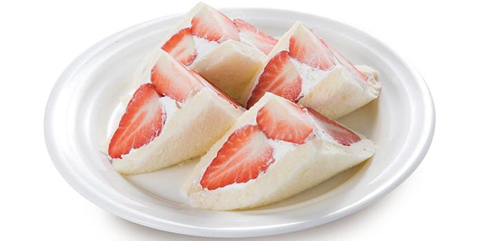 Strawberry Sandwich from Japan Food Matsuri 2019 at Takashimaya Square in Orchard, Singapore